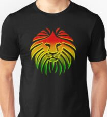 Camiseta unisex Como un león, reggae, rastafari, África, Jah, Jamaica,