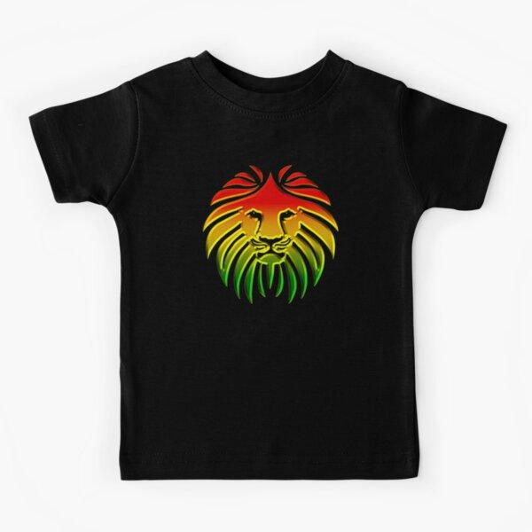 Like a Lion, Reggae, Rastafari, Africa, Jah, Jamaica,  Kids T-Shirt