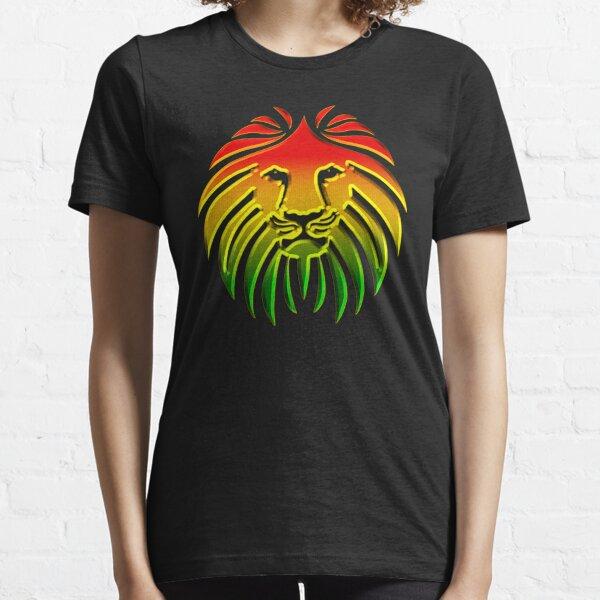 Like a Lion, Reggae, Rastafari, Africa, Jah, Jamaica,  Essential T-Shirt