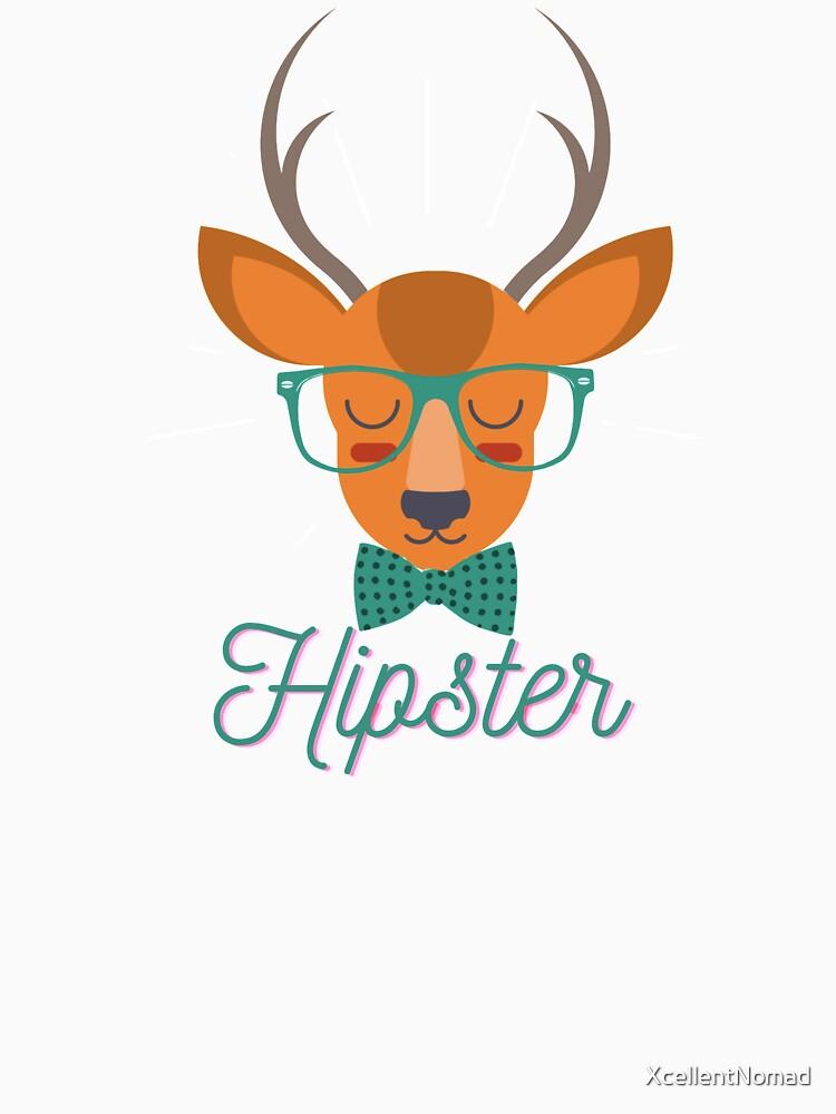 Hipster Deer by XcellentNomad