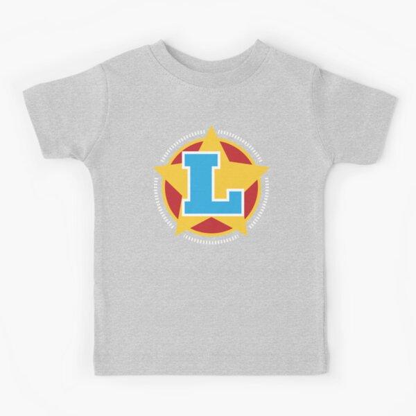 Superhero Letter L. Star and stripes Kids T-Shirt