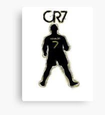 CR7 - Burnt Glow Canvas Print