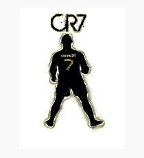 CR7 - Burnt Glow Photographic Print