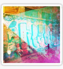 Urban Graffiti 3 Sticker