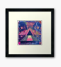 Hollywood/ 80's Dirty Graphics Framed Print