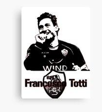 Francesco Totti Canvas Print
