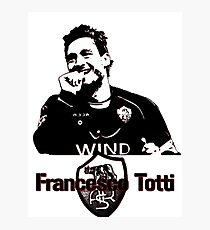 Francesco Totti Photographic Print