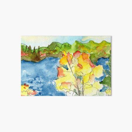 Lake Life Art Board Print