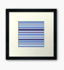 """Natural """"Mare"""" stripes Collection. Original Design Art Framed Print"""