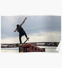 Nyjah Huston Poster