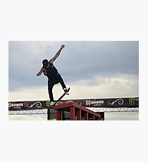 Nyjah Huston Photographic Print