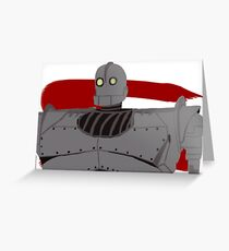 The Iron Giant Greeting Card
