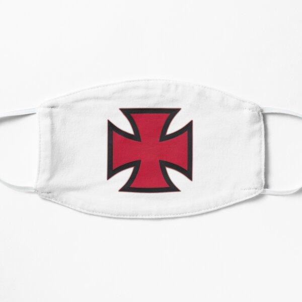 Hospitaller Crusader Christian Knight Order Flat Mask
