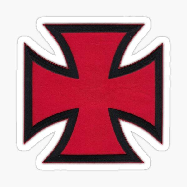 Hospitaller Crusader Christian Knight Order Sticker