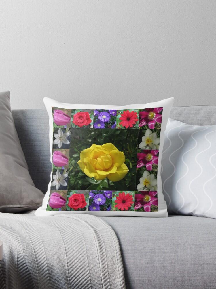 Golden Jewel Rose Collage von BlueMoonRose