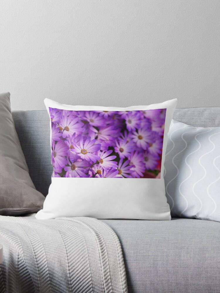 Purple Flowers by gemmadancer