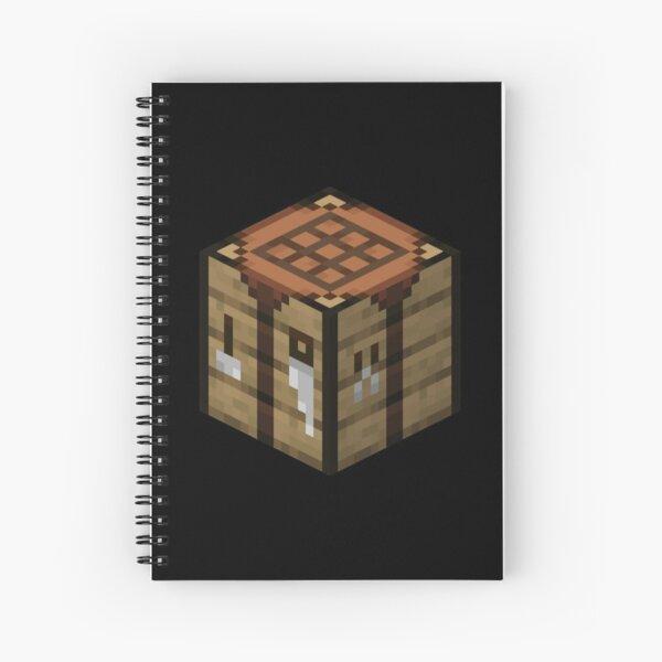 Minecraft Crafting Table | *Original Image  Spiral Notebook