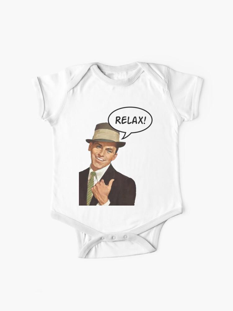 Funny Kids Childrens Hoodie Hoody Frankie Says Relax Solid