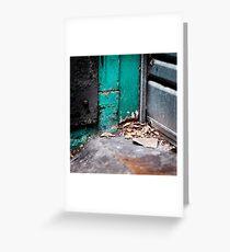 { Corners: where the walls meet #01 } Greeting Card