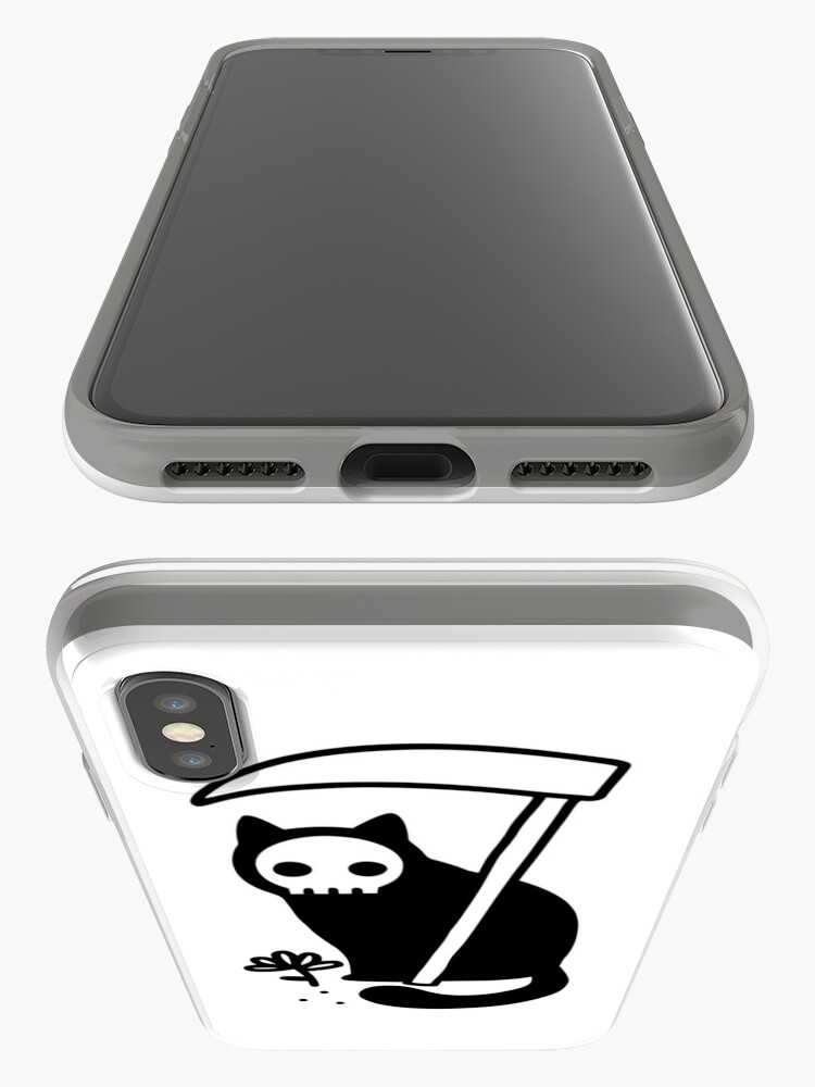 Alternate view of Grim Kitty iPhone Case & Cover