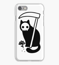 Grim Kitty iPhone Case/Skin