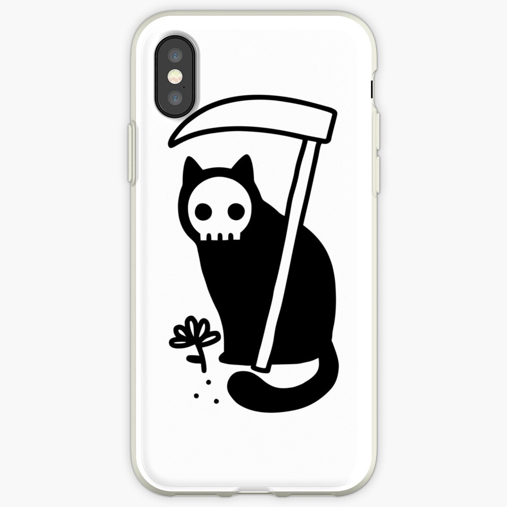 Grim Kitty iPhone Case & Cover