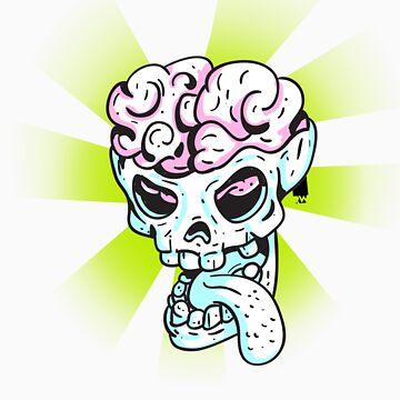 Skullhead Brain by elbudeishon
