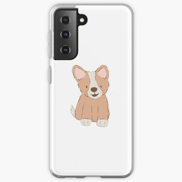 Cute Corgi Puppy Samsung Galaxy Soft Case