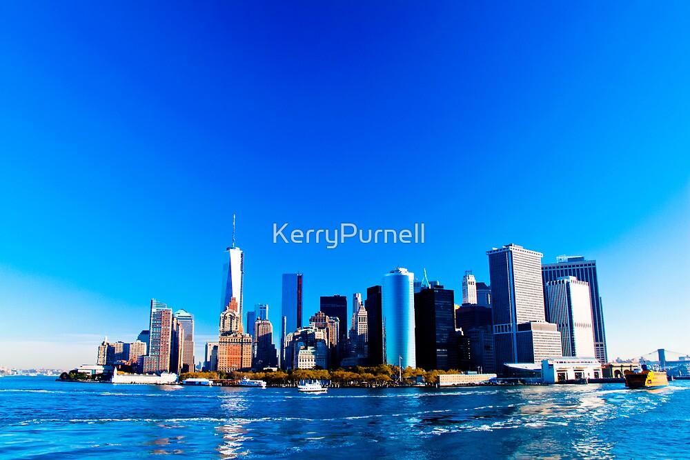 Manhattan Island by KerryPurnell