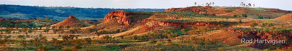 Ngumpan Cliffs by Rod Hartvigsen
