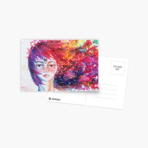 Universe Girl Postcard