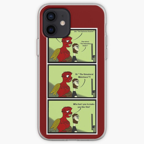 Jack and the Demon writing Villains iPhone Soft Case