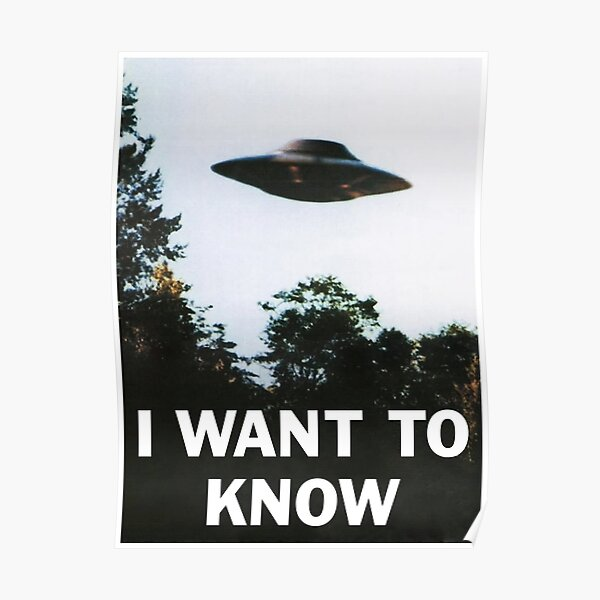 I WANT TO KNOW Poster