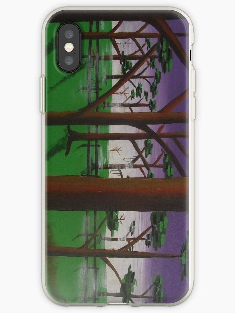 trees/mist/purple by Simart76