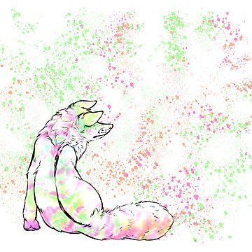 Rainbow Fox by tawnaduncan
