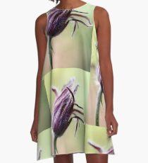 Flower A-Line Dress