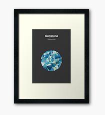 Gemstone - Adamantium Framed Print