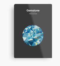 Gemstone - Adamantium Metal Print