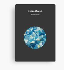 Gemstone - Adamantium Canvas Print