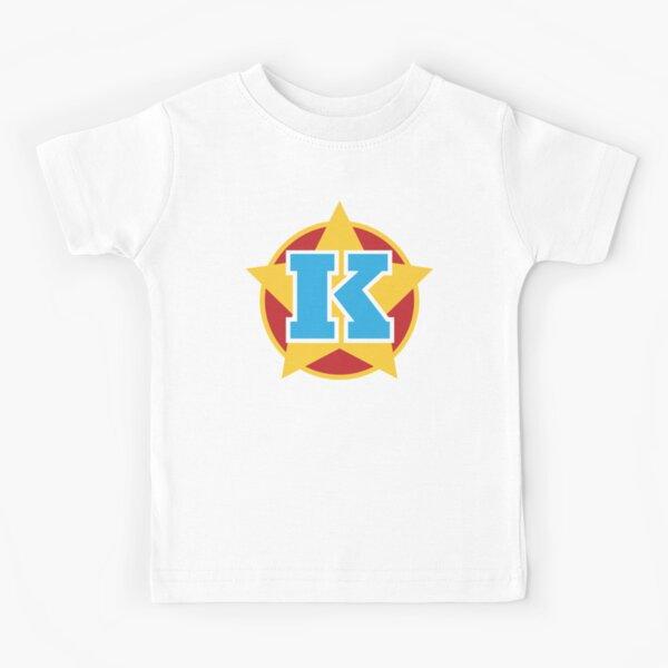 Superhero Letter K. Star and stripes Kids T-Shirt