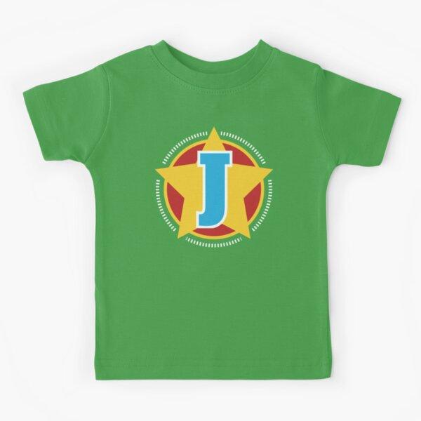 Superhero Letter J. Star and stripes Kids T-Shirt