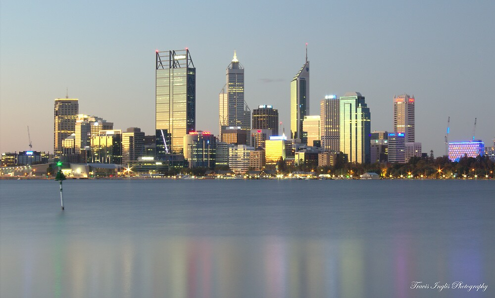 Perth City Sykline. by Tinglis