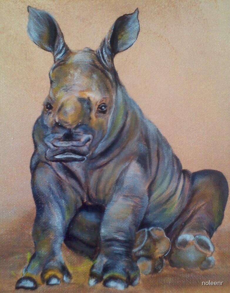 """Baby Rhino"" by noleenr"