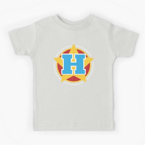 Superhero Letter H. Star and stripes Kids T-Shirt