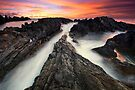 Kipahulu Sunset - Maui by Michael Treloar