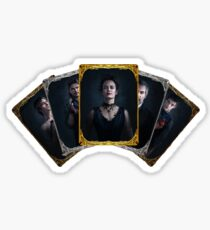 Penny Dreadful tarot cards Sticker