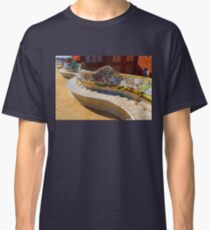 Gaudi's Park Guell Sinuous Curves - Impressions Of Barcelona Classic T-Shirt