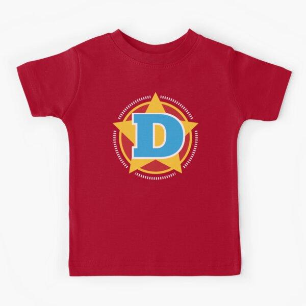 Superhero Letter D. Star and stripes Kids T-Shirt