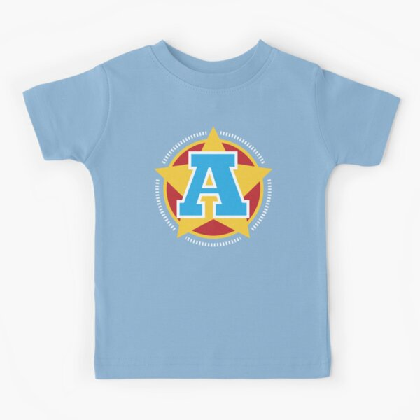Superhero Letter A. Star and stripes Kids T-Shirt