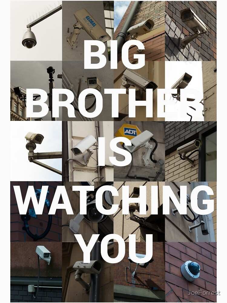 Big Brother is Watching You by JoeForrest